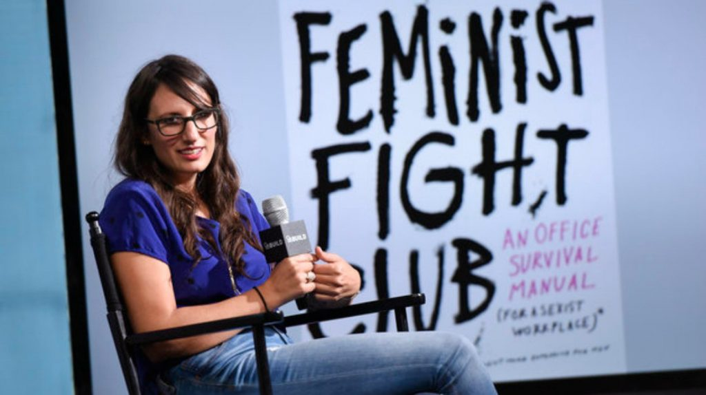 Author of Feminist Fight Club